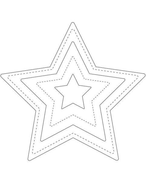 filc csillag sablon
