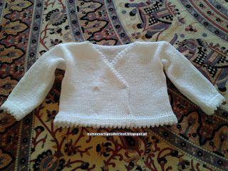 Os meus artigos de tricot (e desabafos de mãe): Casaquinho Diana # 5