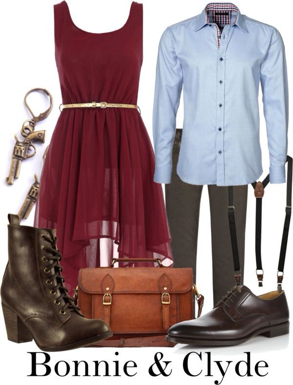 Bonnie and Clyde inspired outfits by The Broadway Wardrobe