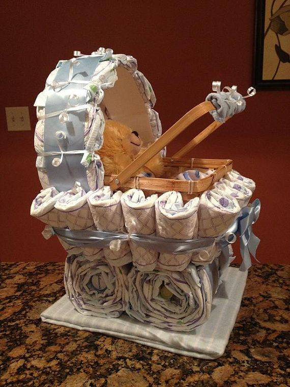 unique baby shower gift diaper carriage unique baby shower gifts