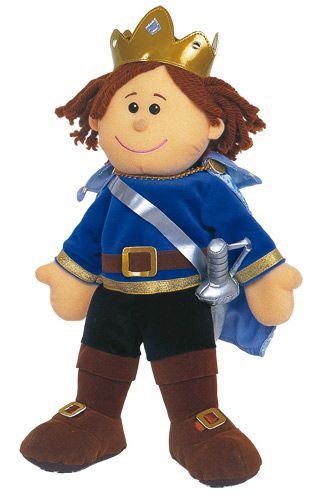 The Prince Tellatale hand puppet is great for bringing story time to life. A beautifully designed quality fabric hand puppet with fine detailing. Complete with removable fabric sword ensuring your little ones will delight in stories like never before.