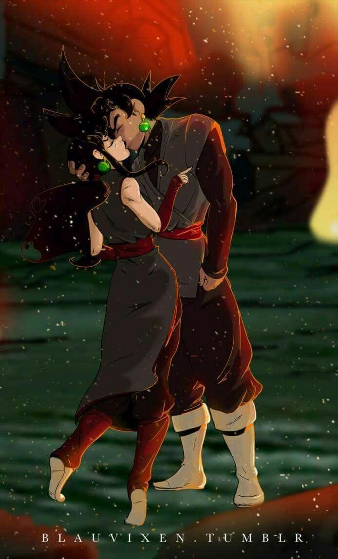 Goku blak x Milk blak | Dragon Ball Z | Dragon ball ...