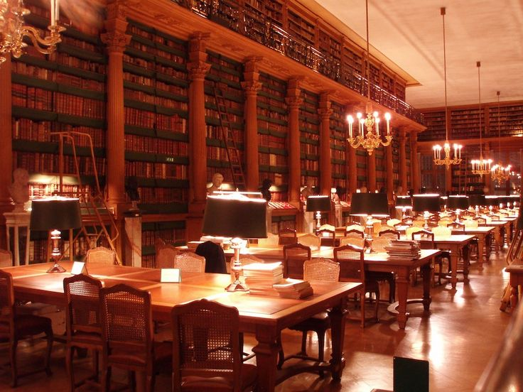 The Bibliothèque Mazarine is the oldest public library in France, initially the personal library of cardinal Mazarin (1602-1661), a great bibliophile