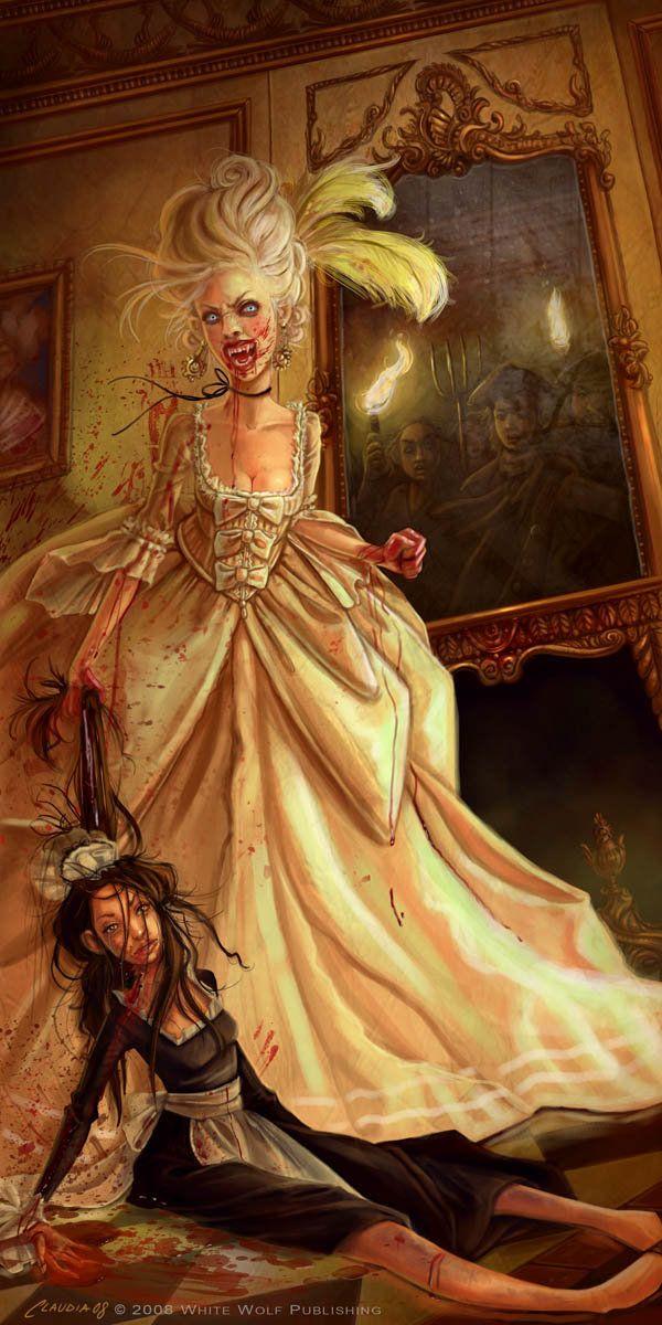 Condessa de sangue. Uma das minhas personagens históricas preferidas.