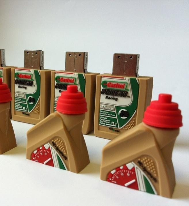 Castrol Oil Bottle USB