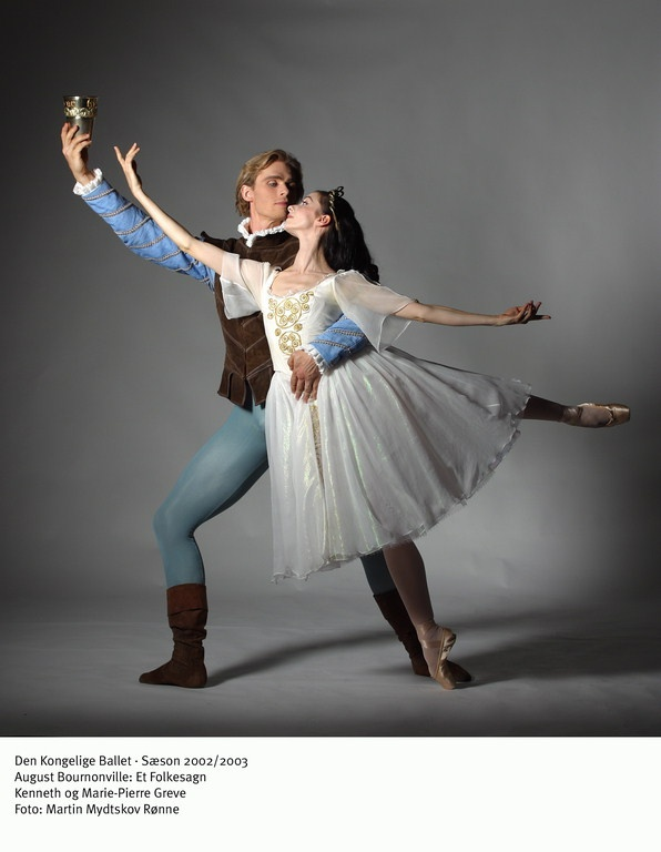 One of my favorite ballet couples: Kenneth and Marie-Pierre Greve.
