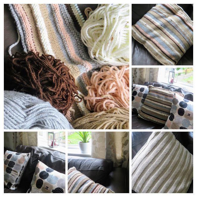 DIY cushion cover. Read more www.sohyggebymrsb.blogspot.ie