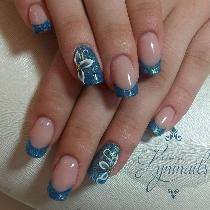 "Gefällt 123 Mal, 2 Kommentare - Nageldesignerin youtuberin (@lyninails) auf Instagram: ""Gelnägel - Studionägel mit 3D #Kunstnägel #uvGel #Farbgele #nailart #Nagelmodellage #Schulung…"""