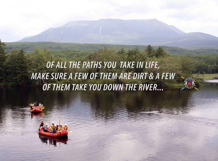 Penobscot river - Mt. Katahdin. #pathsinlife #newyear