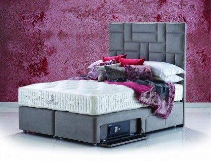 Hypnos Natural Comfort Willow Sublime Super King Size Zip & Link Bed for £2,463.00