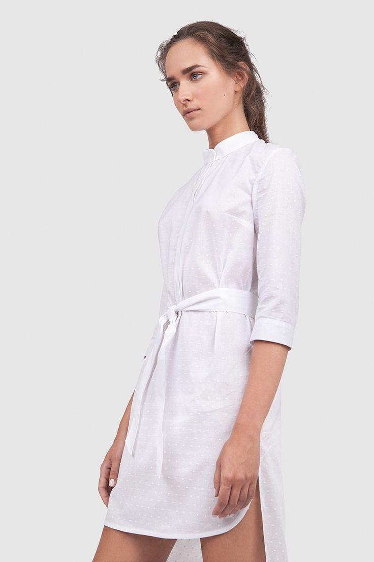 Платье-рубашка / Asya Malbershtein