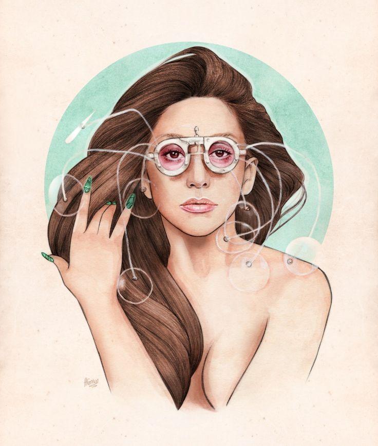 Lady Gaga by Helen Green!