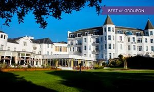 Groupon - Bournemouth: 1 Night For 2 With Breakfast and Wine; With Option For Dinner and Spa Treatment at the Royal Bath Hotel in The Royal Bath Hotel. Groupon deal price: £55