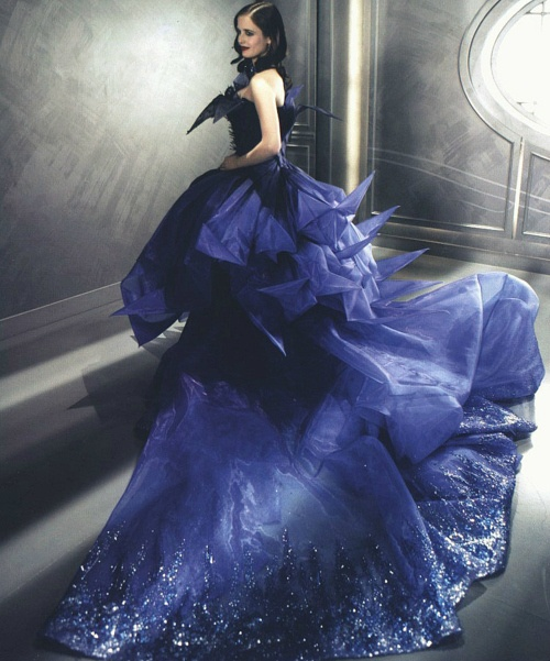 .: Fashion, Eva Green, Christian Dior, Blue, Dresses, Dior Haute, Haute Couture