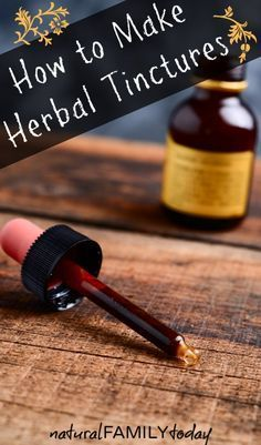 Learning how to make herbal tinctures may seem daunting at first but really is a very simple process. Any aspiring herbalist should learn to make them as soon as possible as they are a valuable way to store and utilize various herbs and come in quite handy in the home apothecary.