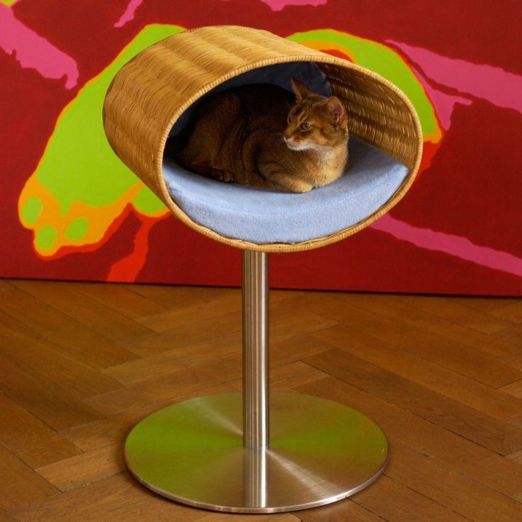 RONDO STAND Cesto tiragraffi per gatti