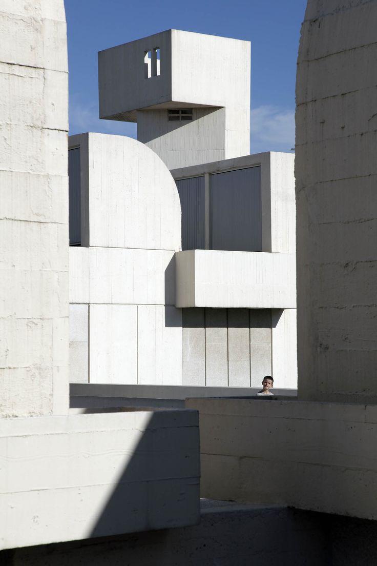 Fundacio Miro. Arquitecte Sert. Barcelona
