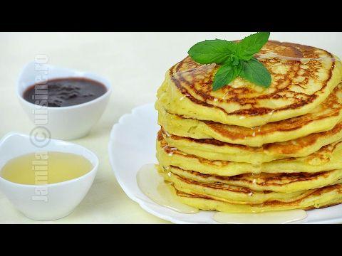 Pancakes / clatite americane - reteta video   JamilaCuisine