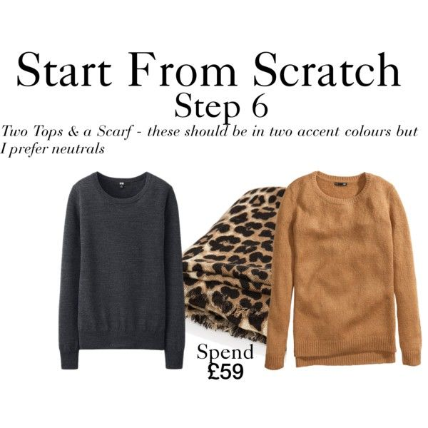 Start From Scratch Winter - Step 6 by charlotte-mcfarlane on Polyvore featuring H&M, Uniqlo and MANGO
