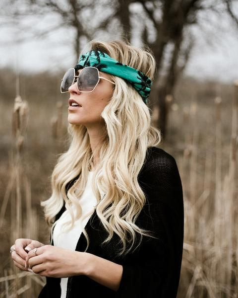 Sunny Soul Twist Headband - Teal