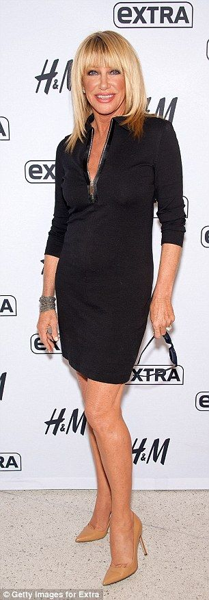 Suzanne Somers looks decades younger than her 68 years #dailymail