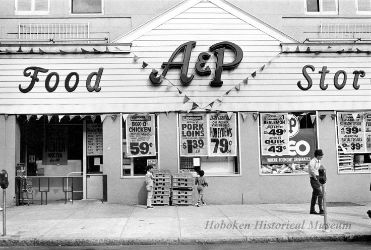 A p food store i remember shopping as a kid with my