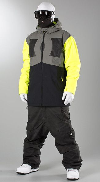 DC - Billboard Snow Jacket Caviar - Ridestore.com