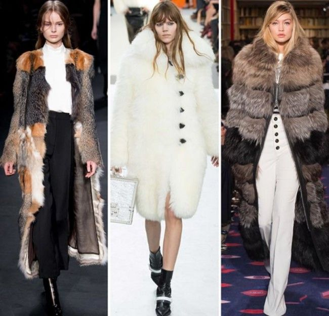 Tendenze Moda autunno inverno 2015 2016 La pelliccia