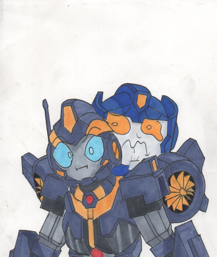 transformers more than meets the eye mtmte nautica skids art draw work copic markers