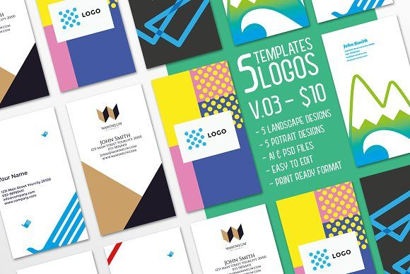 $10 for 5 - Business Card 03 by ihsankl on @creativemarket