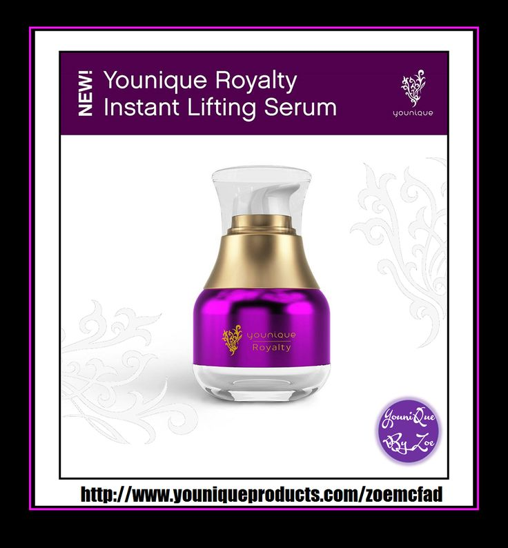 Royalty Instant Lifting Serum Quickly restore the appearance of healthy, youthful skinTake your skin care to an elevated level with an advanced formula inspired by nature. Discover the appearance of firmer skin with the rich and creamy Instant Lifting Serum, formulated with vitamins, plant extracts, and a biomimetic neuropeptide. #YOUNIQUE #australia #newzealand #germany #spain #france #canada #usa #uk #mexico #hongkong #beauty #makeup #skincare