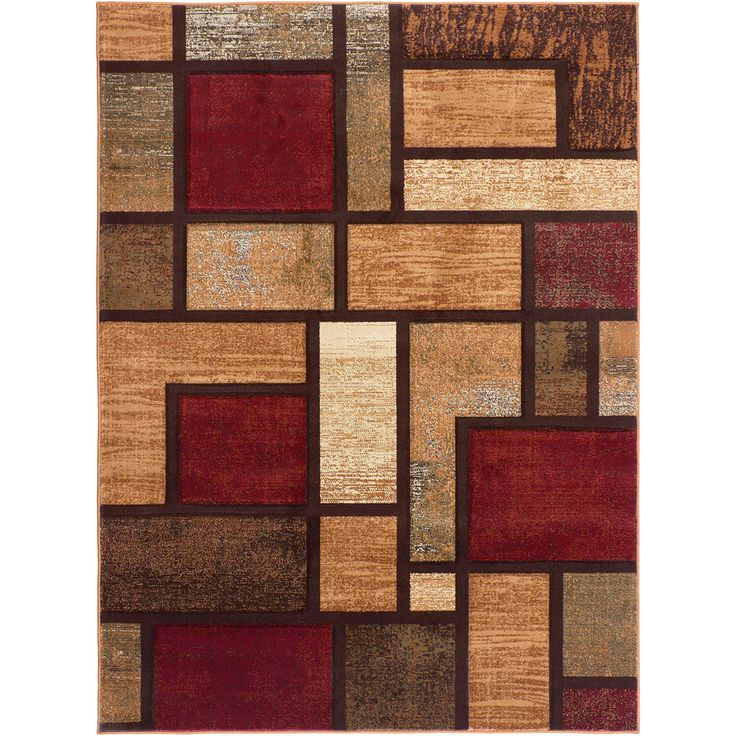 Flora 108830 Contemporary Multi Area Rug (7u002710 X 10u00273)