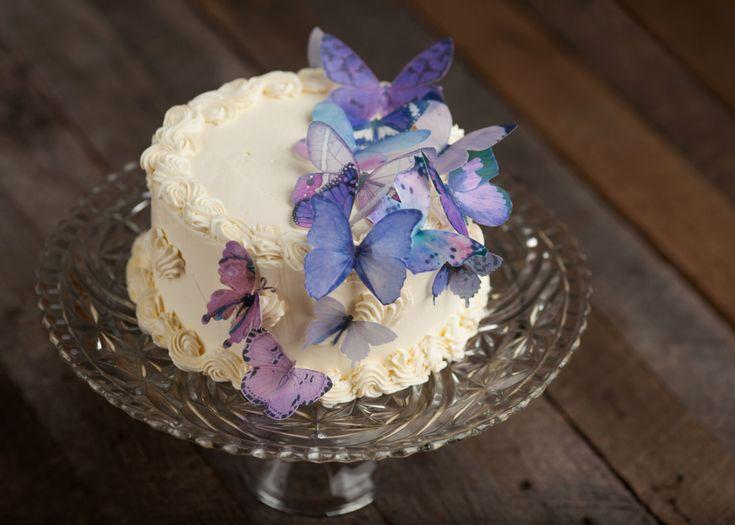 Purple Rain Cake Topper