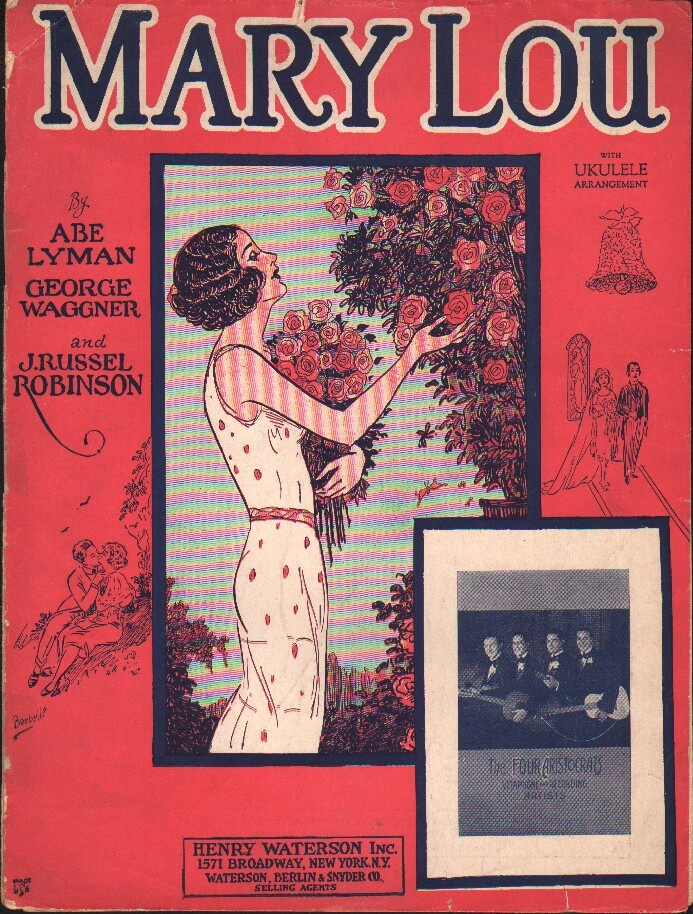 Mary Lou: Strike Vintage, Vintage Sheet Music, Music Covers, New York, Piano Man, Lou Lou, Music Medley, Mary Lou