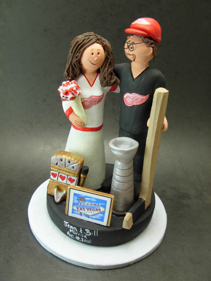 custom hockey wedding cake toppers 53 best images about hockey wedding cake toppers on 13202