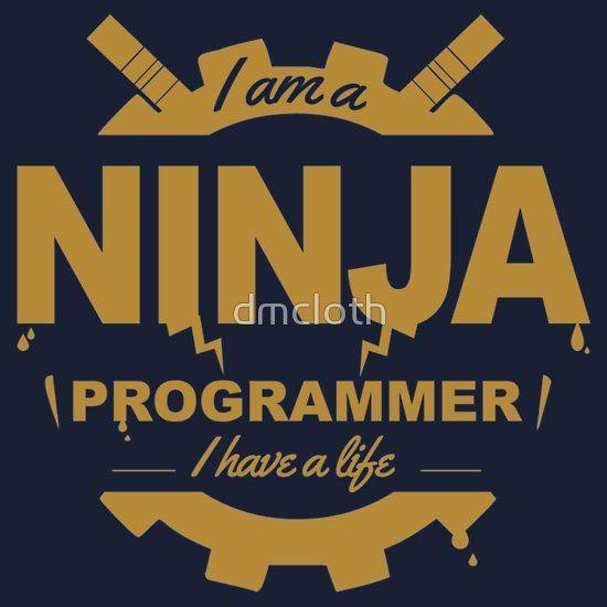 programmer : i'm a ninja programmer - gold  #programmer #programming #developer #webprogrammer #webprogramming #webdeveloper #coder #coding #code