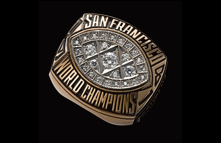 Super Bowl XVI - San Francisco 49ers | 48 Mind Blowing Photos Of Every Super Bowl Ring Ever