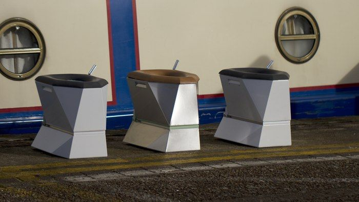 The Loowatt system allows human waste to be extracted from special toilets, and placed in an ...