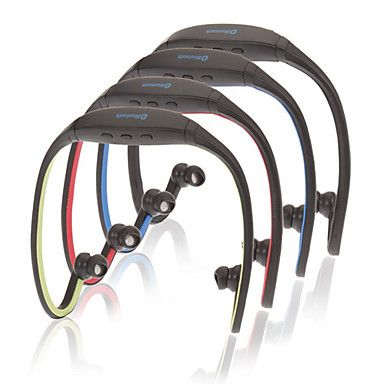 auriculares bluetooth estéreo de cuello deportes bandas con mic micrófono (color surtidos) – USD $ 9.45