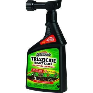 Spectracide, 32 fl. oz. Ready-to-Spray Triazicide Insect Killer for Lawns and Landscapes Concentrate, HG-95830-2 at The Home Depot - Mobile