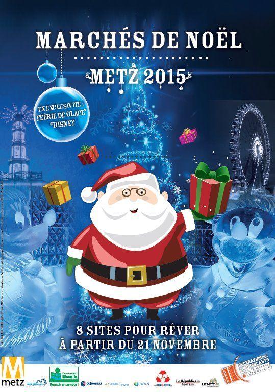 Marchés de Noël de Metz - Metz Marché de Noël Fêtes Saint-Nicolas 2015 Moselle - LorraineAUcoeur