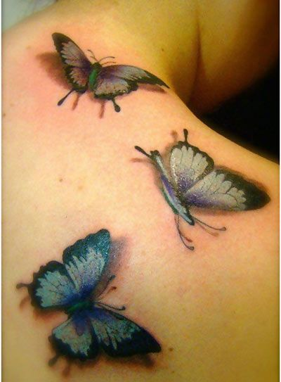 10 gorgeous butterfly tattoo designs best 3d tattoos design and 3d butterfly tattoo. Black Bedroom Furniture Sets. Home Design Ideas