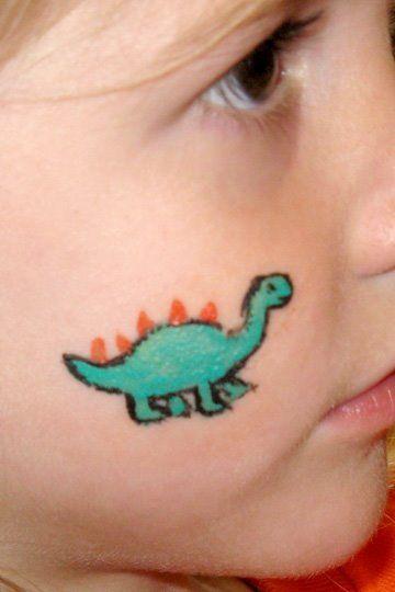 Best 25 Dinosaur Face Painting Ideas On Pinterest Fasching Schmink Ideen F 252 R Kinder