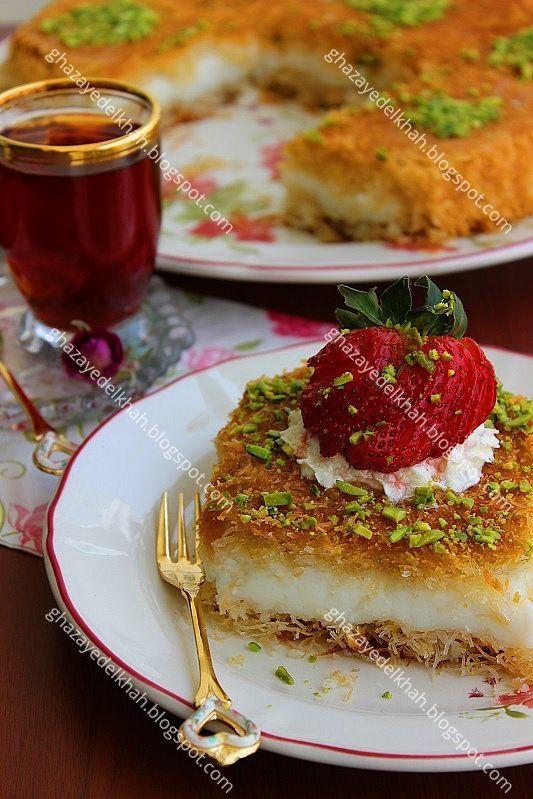دوستان عزیزم ، کنافه یکی از خوشمزه ترین و محبوب ترین دسرها به خصوص در ماه رمضان هستش.