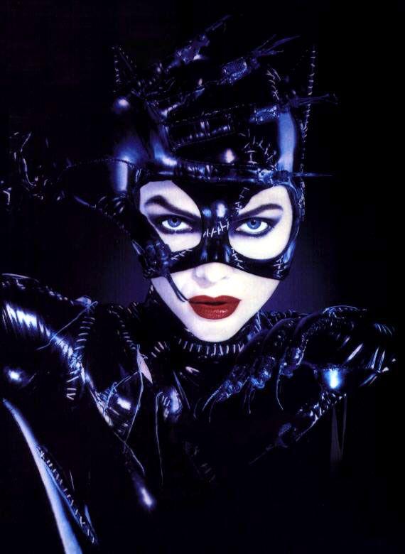 "Imagen de Michelle Pfeiffer como Catwoman en ""Batman Returns"" (1992)                                                                                                                                                     Más"