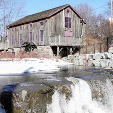 Barn Wedding Venue in Waterloo Ontario - Abraham Erb's Grist Mill Barn Wedding Location