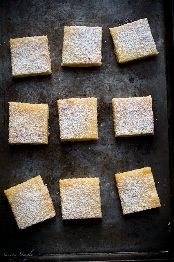 Grapefruit Bars - Savory Simple