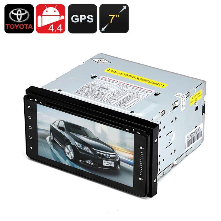 2 DIN 7 Inch Toyota Car DVD Player - Android OS, 800x480,1GB RAM, GPS, Wi-Fi, Bluetooth