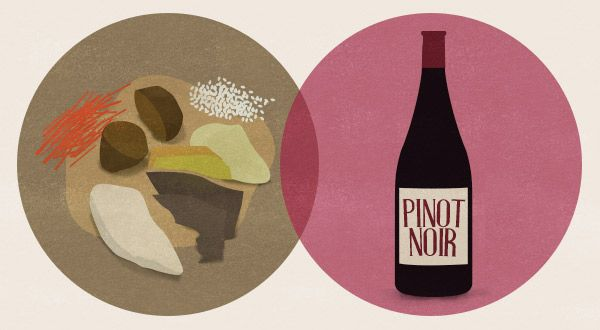 Traditional Hangi dinner and Pinot Noir food and wine pairing