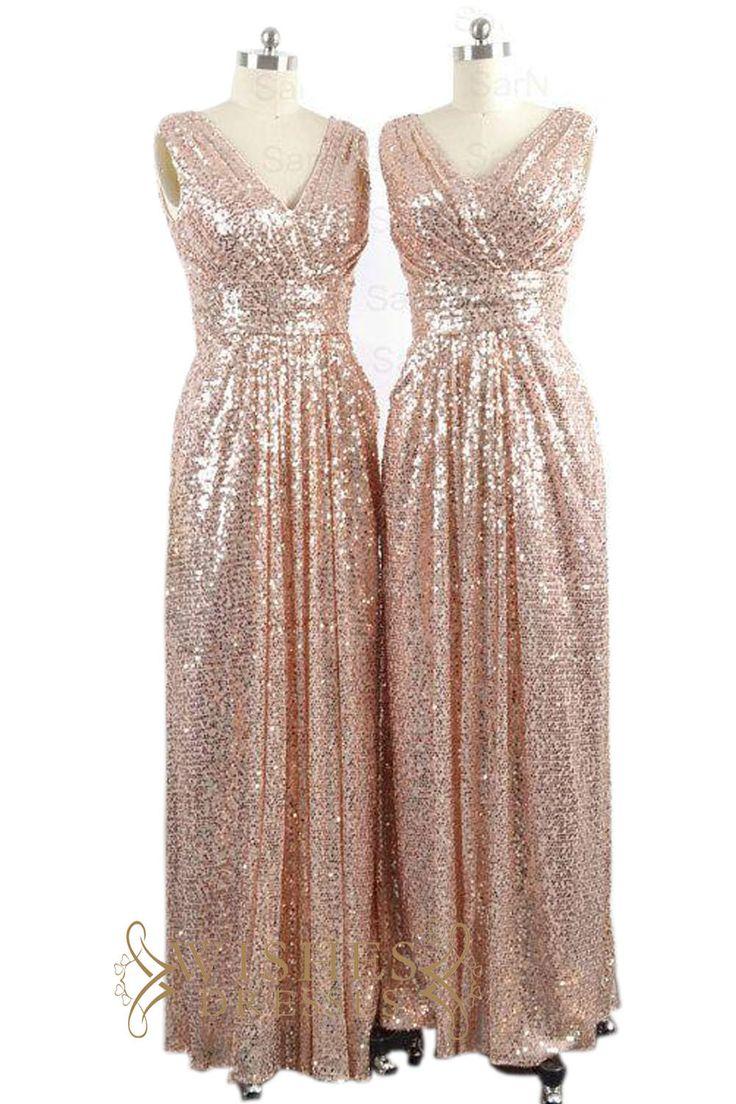 25  best ideas about Rose gold sequin dress on Pinterest | Rose ...